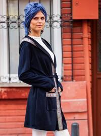 Navy Blue - Cardigan