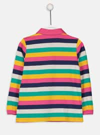 Stripe - Yellow - Girls` T-Shirt