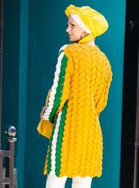 Mustard - Green - Acrylic -  - Cardigan