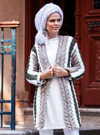 Mink - Acrylic -  - Cardigan