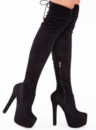 Black - Boot - Boots - Ayakkabı Havuzu