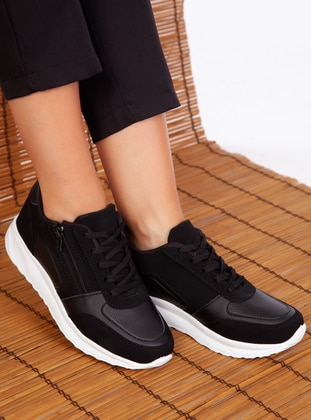 Black - Sport - Sports Shoes - Ayakkabı Havuzu