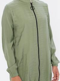 Green Almond - Crew neck -  - Tunic
