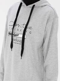 - Gray - Sweat-shirt