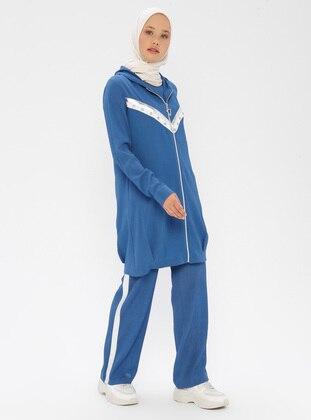 Indigo - Unlined - Suit