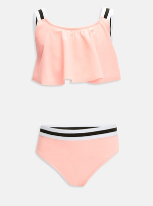 Coral - Girls` Swimsuit