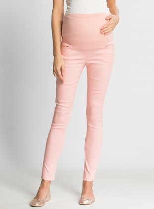 Pink - Maternity Pants