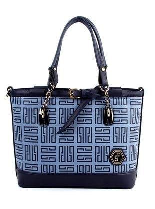Navy Blue - Blue - Shoulder Bags