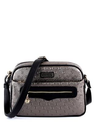Silver - Black - Shoulder Bags