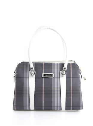 White - Smoke - Shoulder Bags