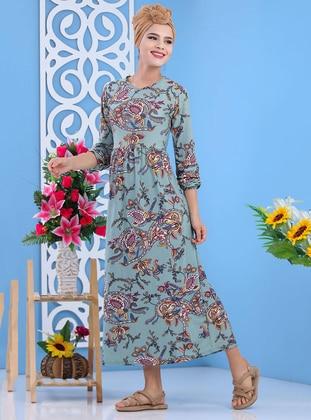 Mint - Shawl - Round Collar - Unlined -  - Dress