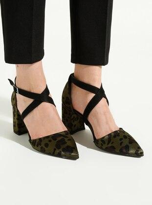 Khaki - High Heel - Heels