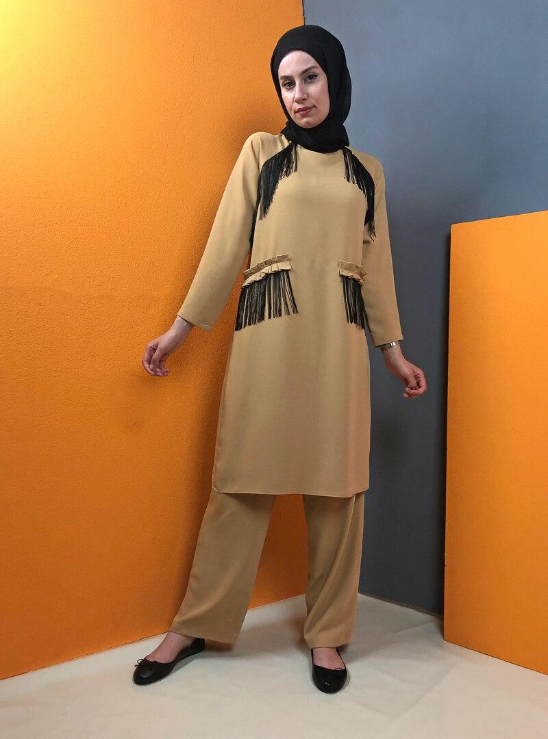 Suit Aydazen Mustard