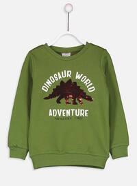 Green - Boys` Sweatshirt