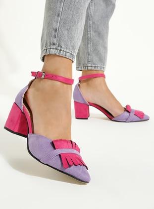 Fuchsia - Lilac - High Heel - Heels