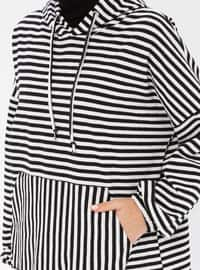 Stripe - White - Sweat-shirt