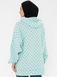 - Turquoise - Sweat-shirt