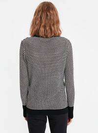 Printed - Black - Cardigan