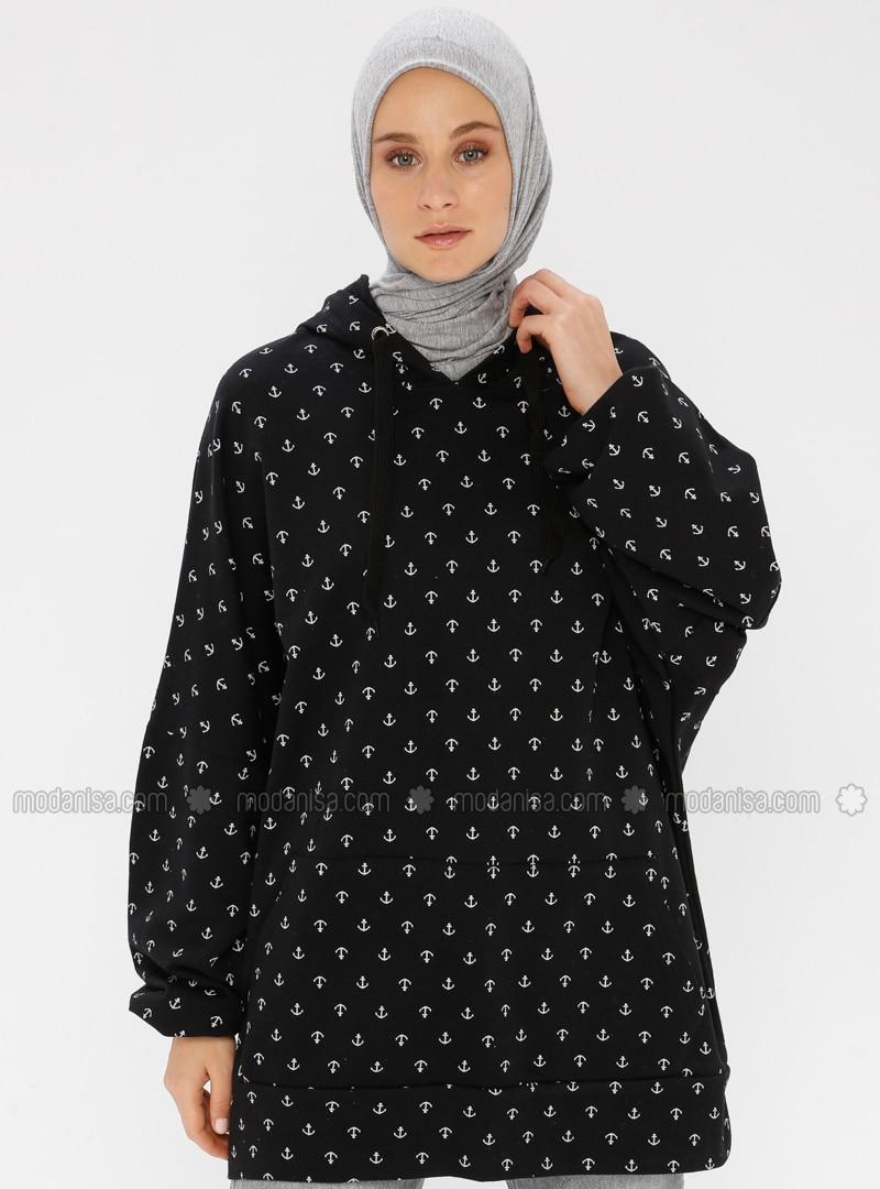 - Black - Sweat-shirt