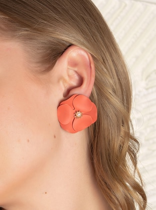 Orange - Earring