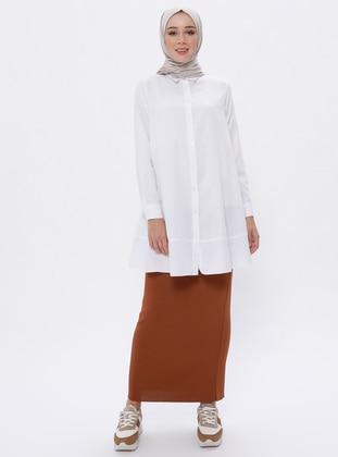 Cinnamon - Unlined -  - Viscose - Skirt