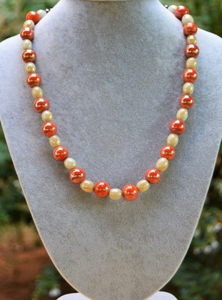 Orange - Necklace