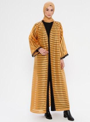 Mustard - Unlined - Abaya