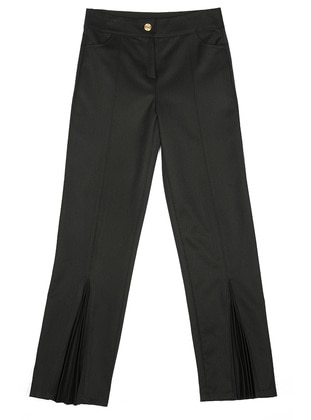 Unlined - Black - Girls` Pants