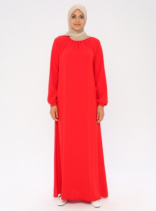 Red - Unlined - Prayer Clothes