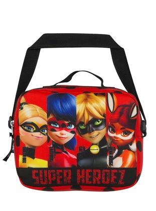 Red - Satchel - School Bags