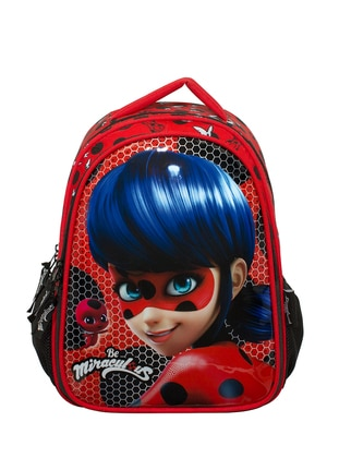 Red - Backpack - School Bags