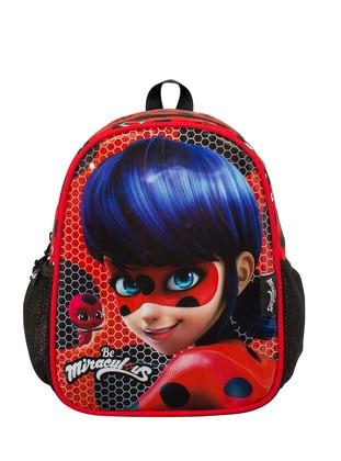 Red - Backpack - School Bags
