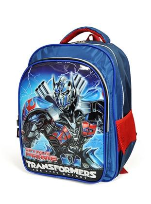 Navy Blue - Backpack - School Bags