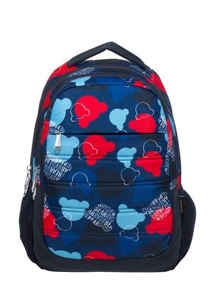 Blue - Backpack - School Bags