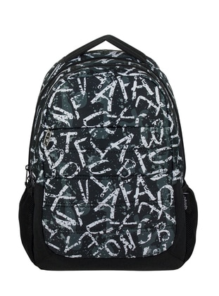 Black - Backpack - School Bags