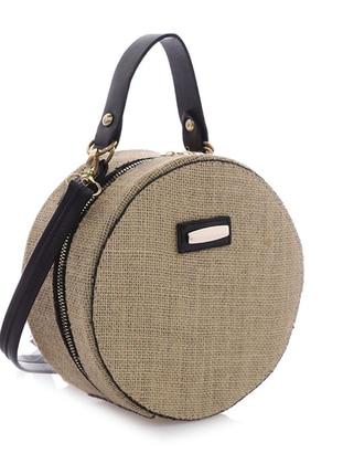 Camel - Black - Shoulder Bags