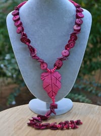 Fuchsia - Necklace