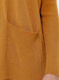 Mustard - Crew neck -  - Viscose - Tunic