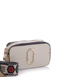 Beige - Mink - Shoulder Bags