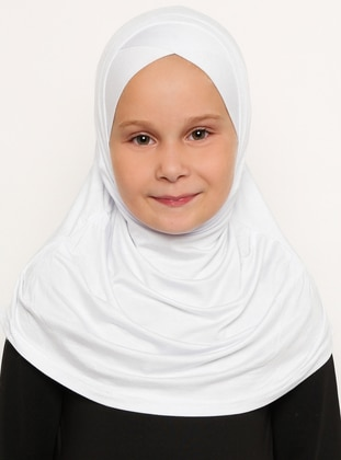 White - Ecru - Simple - Viscose - Bonnet