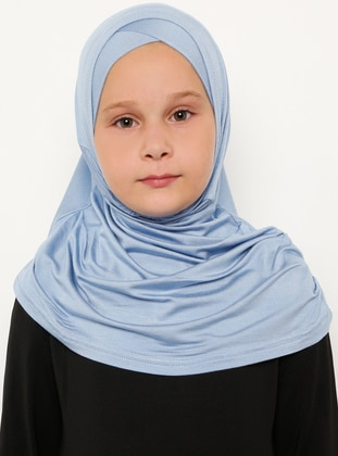 Blue - Simple - Viscose - Bonnet
