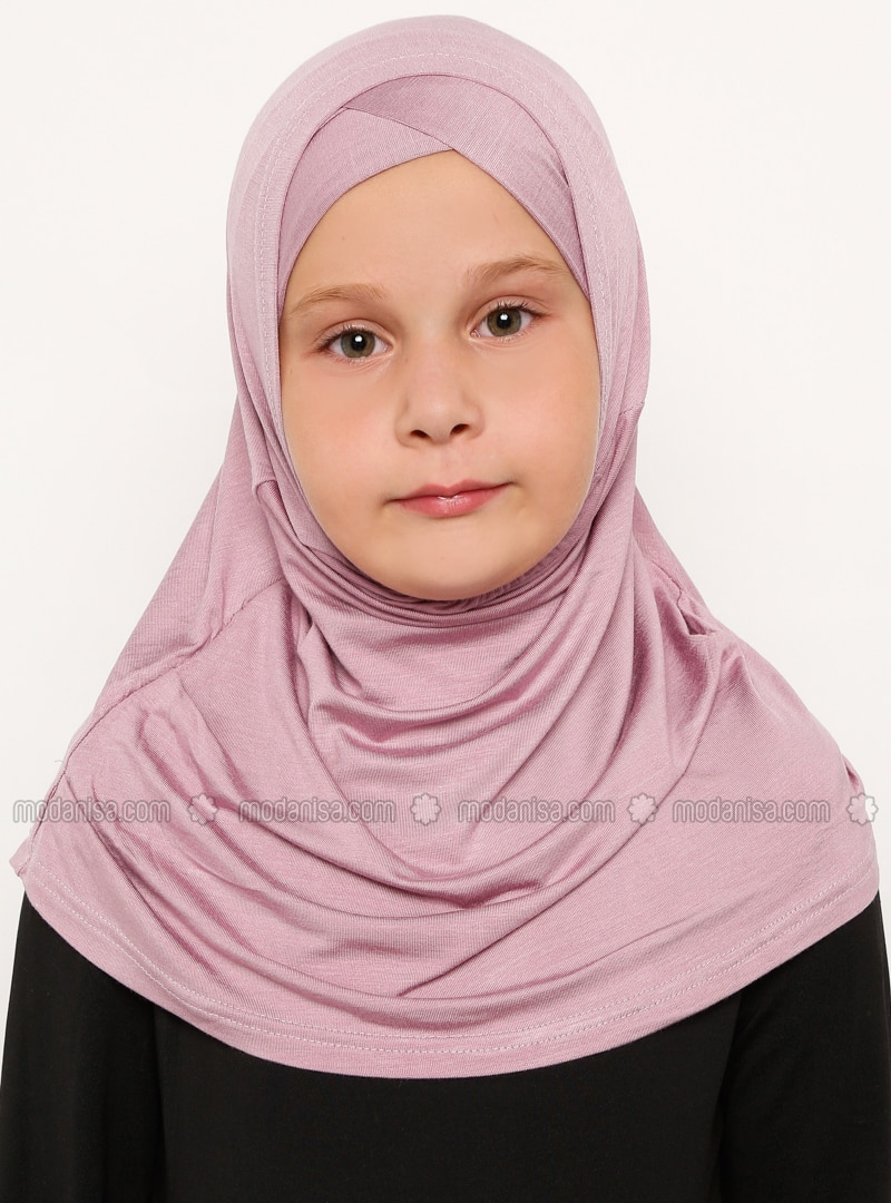 Pink - Simple - Viscose - Bonnet