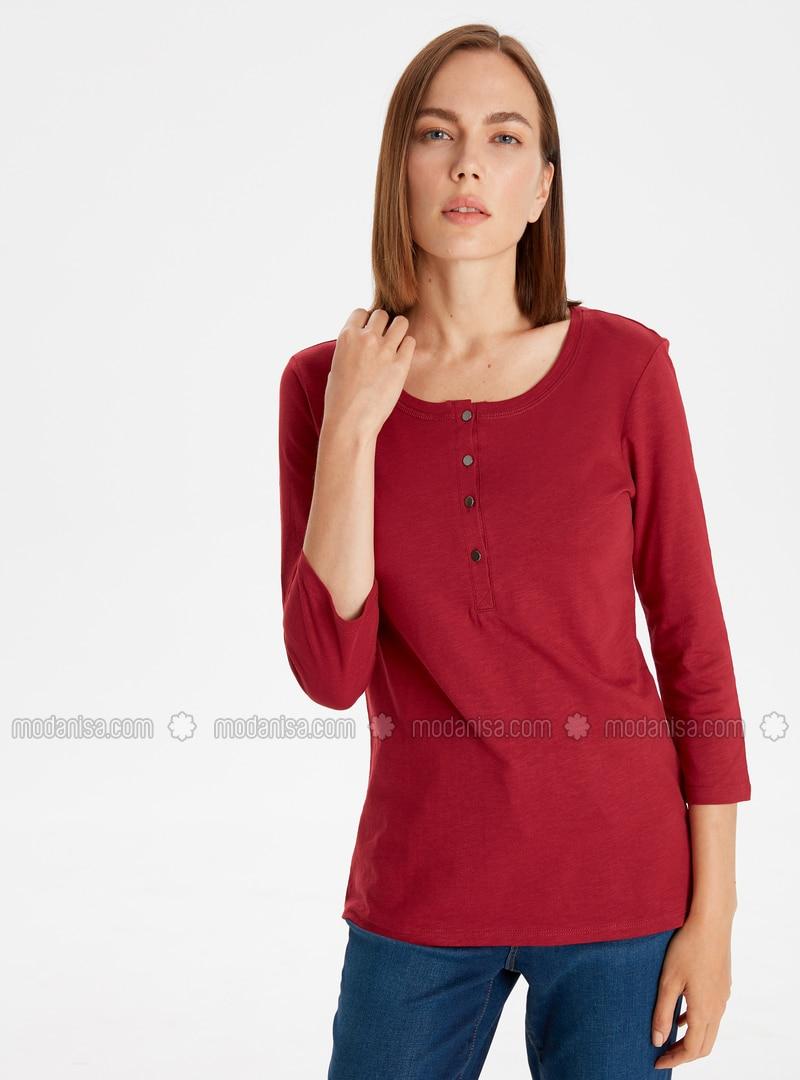 Maroon - T-Shirt