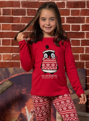 Red - Kids Pijamas - Elitol Premium