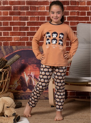 Salmon - Kids Pijamas - Elitol Premium