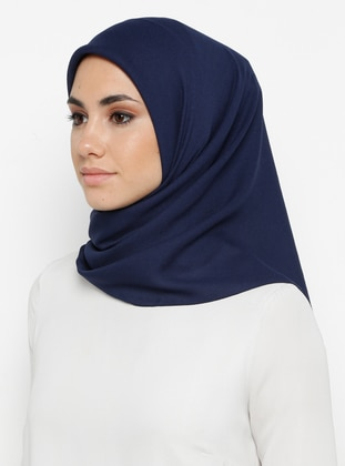 Navy Blue - Plain - Scarf