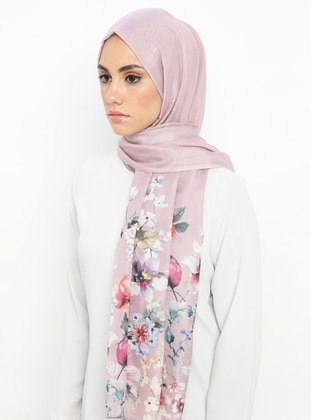Powder - Floral - Shawl