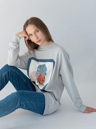 Gray - Sweat-shirt - SOUL