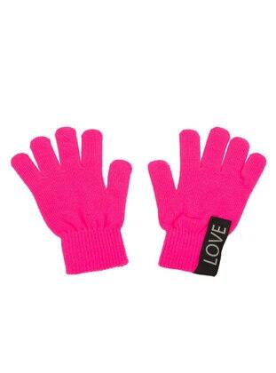 Pink - Glove - DeFacto