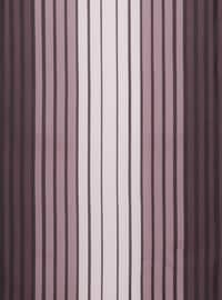 Purple - Striped - Scarf